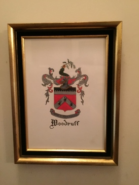Woodruff family crest